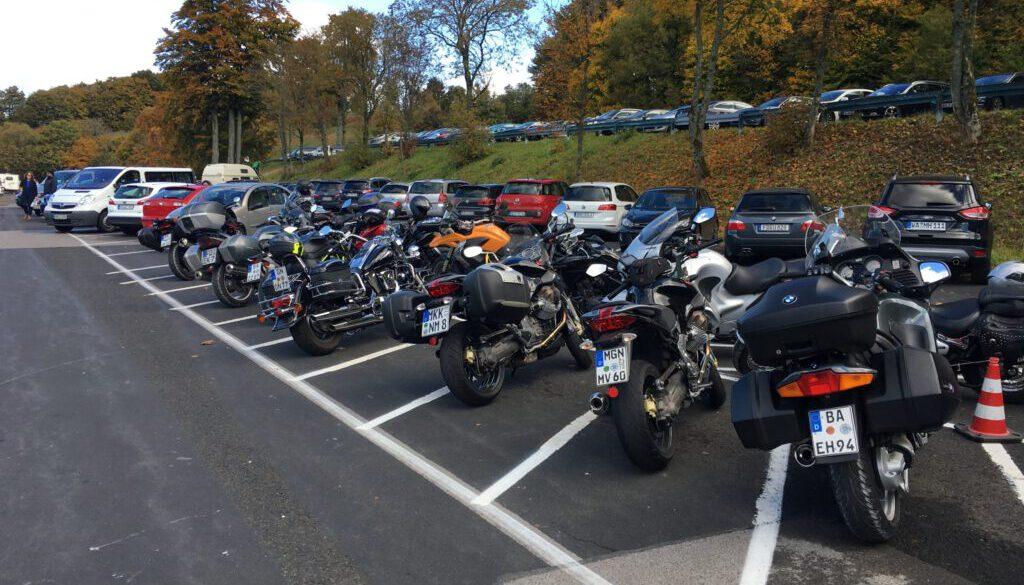 Motorrad Kreuzberg - Rhön