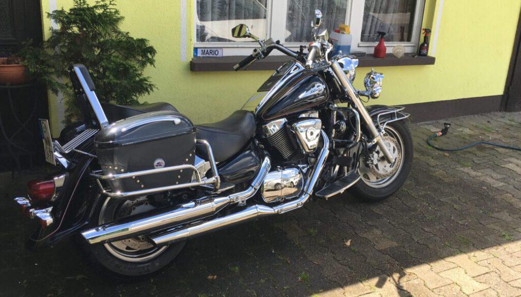 Motorrad Pension Ramona