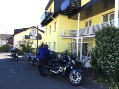 Motorrad Tourenplanung Pension Ramona