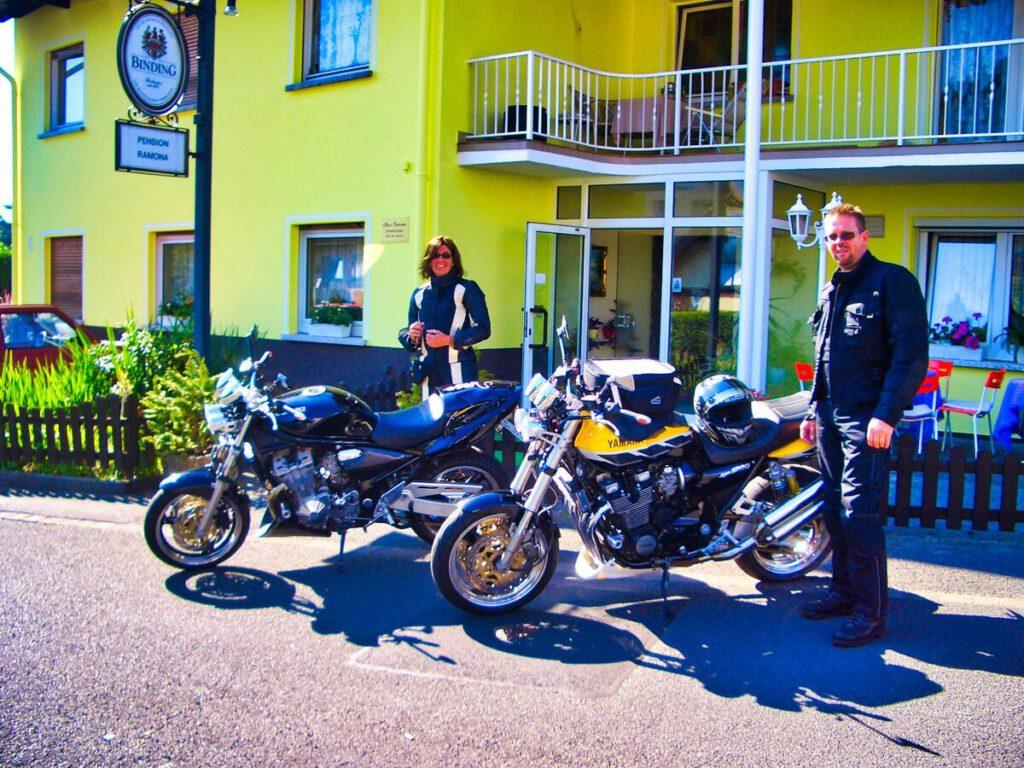 Motorrad Vogelsberg Spessart Rhön - Bad Soden-Salmünster - Pension Ramona