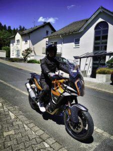 Motorrad KTM - Pension Ramona Bad Soden-Salmünster