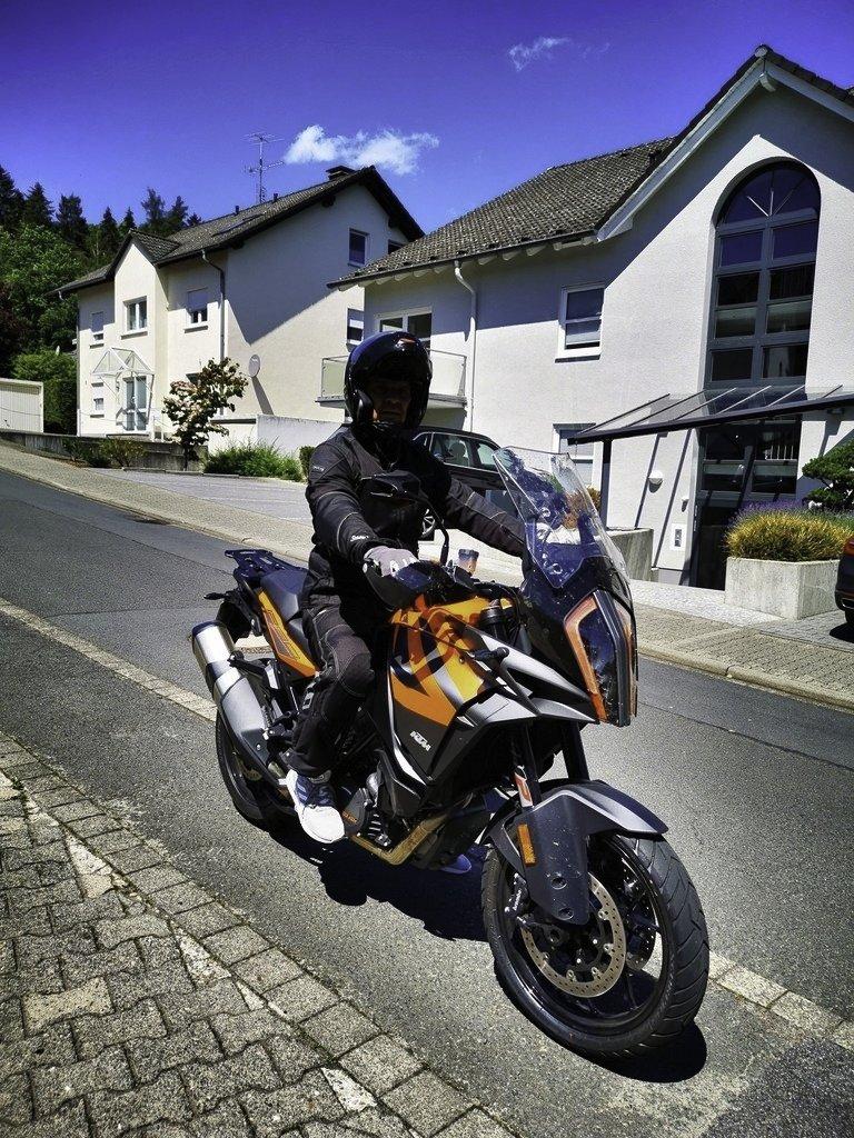 Motorrad KTM Pension Ramona 63628 Bad Soden-Salünster