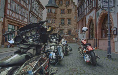 Motorradausflug Altstadt Büdingen