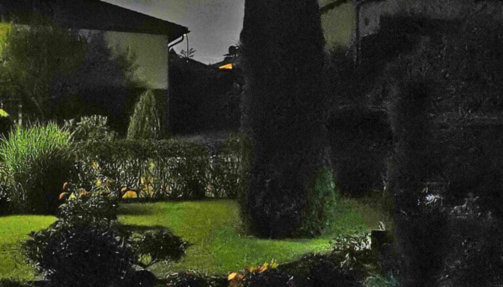 Ausblick Zimmer 21 - Nachtaufnahme