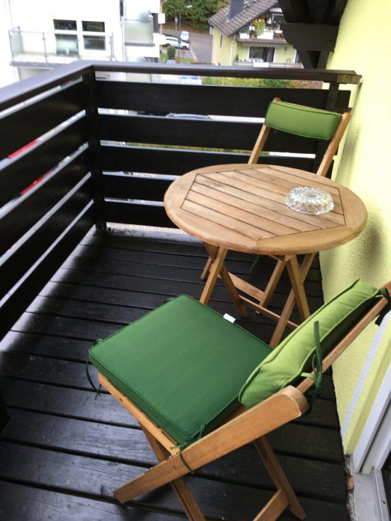 Balkon Pension Ramona Bad Soden-Salmünster