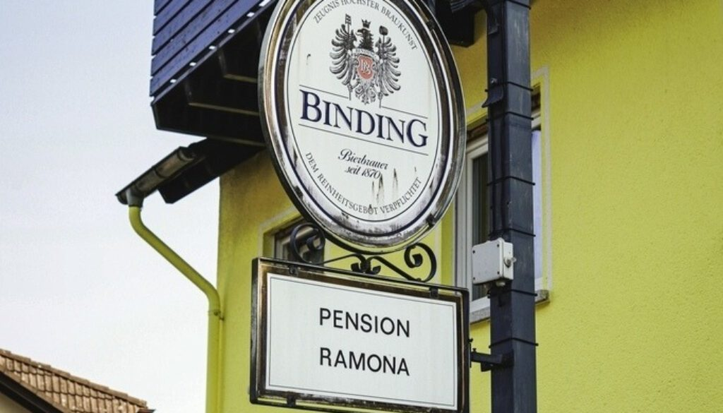 Pension Ramona_Ausleger