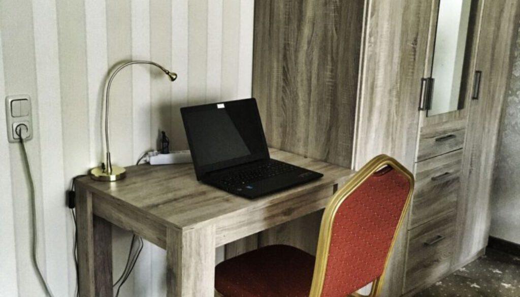Pension Schreibtisch
