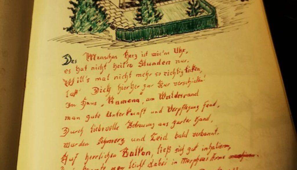 Alte Gästebuch Einträge (1)